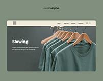 Sustainable clothing store