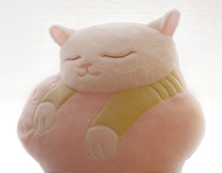Cupcake Pillow and Plushies Case
