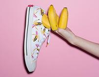 Art Direction : Converse x CLOT x Warhol