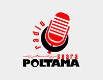 Logo Radio Suara POLTAMA