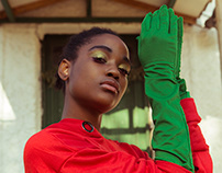 Prayers in green on Huf Magazine