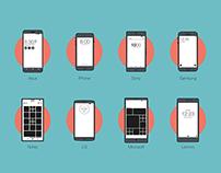 Different Smart Phones