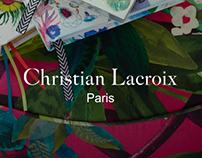Christian Lacroix - Nouvelle identité digitale