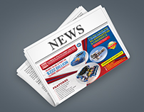 Print Ad Design for 3D Engineering College