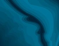 Illustration abstraite de fond marin