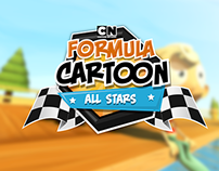 Formula Cartoon - All Stars