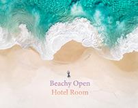 Beachy Open-Hotel Room