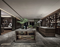 President Mansion In The Air by CCD-Cheng Chung Design