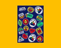Tutti Frutti - Sticker collection
