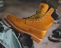 WOODSMAN - footwear design collection for DRK FW15-16