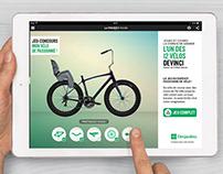 Desjardins - Campagne intégrée - Passioné de vélo