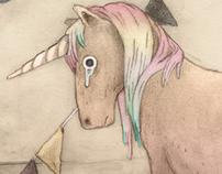 Sad horse (the unicorn)