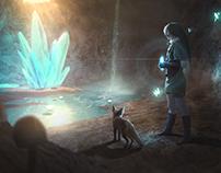 The Legend Of Zelda: Deep in the Cave