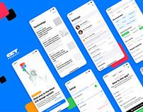 Figma iOS UI kit — «Most» native design system
