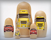 Shell - Russian Dolls [forecourt promo campaign]