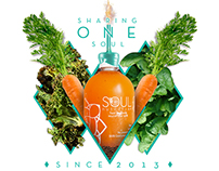 New Line Soul Nutrition®, One year of Sharing Soul.