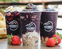 Roxinho Açaí e Alimentação Saudável - Branding