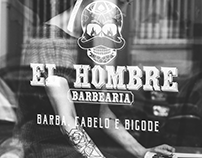 El Hombre Barbearia | Identidade Visual