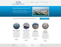 Página Web de Empresa Petroquímica - Estados Unidos