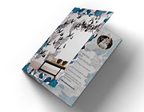 Brochure for bespoke wallpapers collection