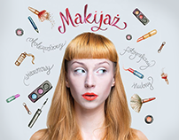 Illustrations & visual identity for make-up artist