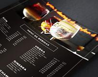 Drinks Menu for Ritter Bar