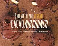 Helado Vegano - Crepes & Waffles ARTESANO