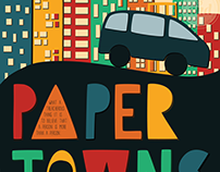 Paper Towns | Reimagined Book Cover
