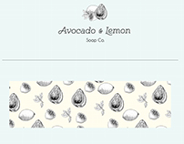 Avocado & Lemon Soap Co. Branding