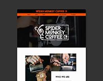 Spider Monkey Coffee Co - Website