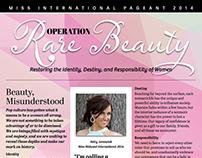 Platform Sheet, Miss International Pageant 2014
