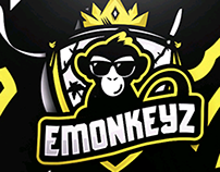 SHIELD EMONKEYZ LOGO