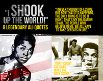 """I shook the world"" - 8 Legendary Ali Quotes"