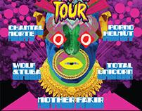 TEXAS UNDERGROUND 2014 TOUR POSTER