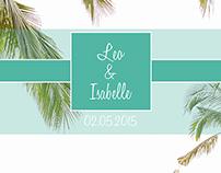 Leo and Isabelle Wedding Album