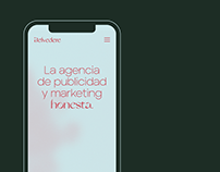 Belvedere — Visual identity and Web design