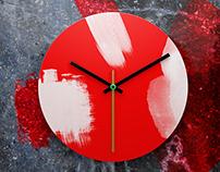 Wall Clock II Mock-up
