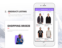 2016 Best Mobile UI eCommerce App