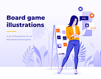 Board Game Illustrations