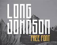 Long Johnson - Free Font