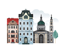 Illustrated Cities of Europe