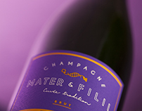 Branding - Champagnes Mater & Filii