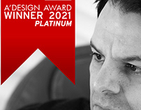 "I won ""PLATINUM A'DESIGN AWARD 2021"""