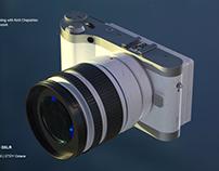 Samsung NX300 DSLR