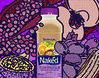 Naked Juice Artworks