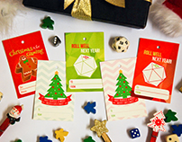 Boardgame-Themed Gift Tags