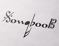 "Logo / CD cover for jazz trio ""SongBook"""