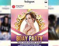 Birthday Party – Free Animated Instagram + Facebook Fly