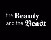 The Beauty and the Beast - a typotale