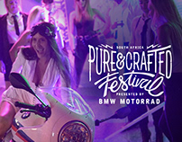 BMW Pure&Crafted Festival Activation